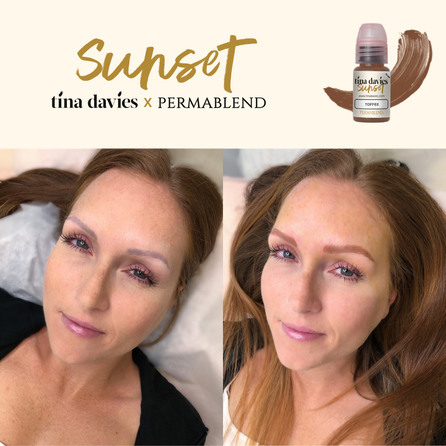 Пигмент  Perma Blend Tina Devis Toffee