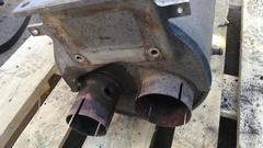 Глушитель на МАН ТГМ  Рзонатор (бочка) глушителя, Евро 4 с катализатором MAN TGL/TGM  Оригинальные номера MAN - 81151016021