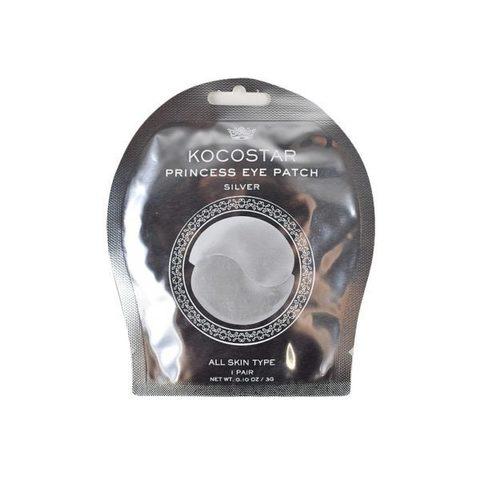 Kocostar Гидрогелевые патчи для глаз Серебряные 1 пара /Princess Eye Patch (Silver) Single