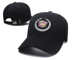 Модная бейсболка с вышивкой Cadillac  (Кепка Кадиллак) черная