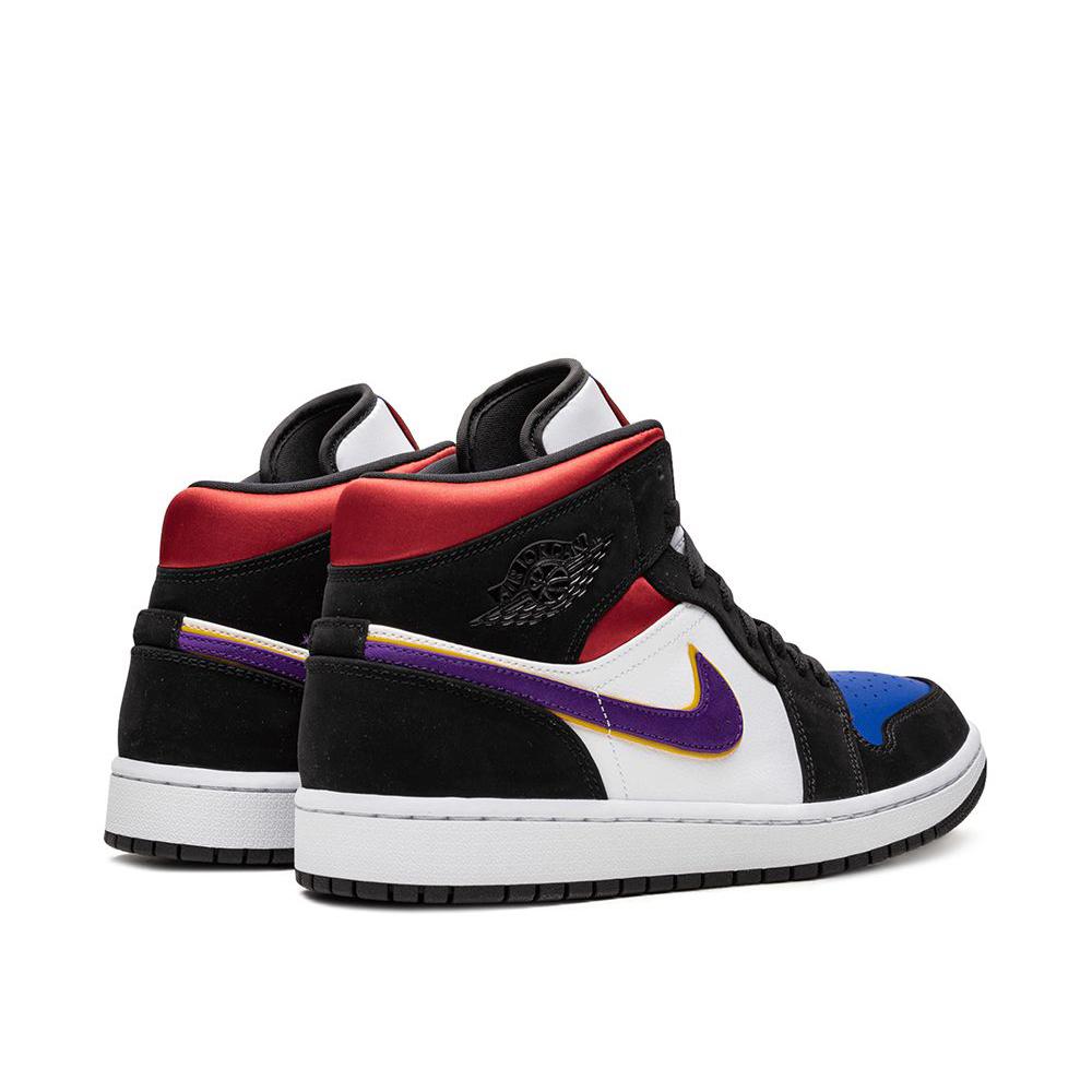 Nike Air Jordan 1 Mid Black/White/Purple