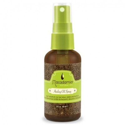 Macadamia Natural Oil: Уход-масло Cпрей восстанавливающий  с маслом арганы и макадамии (Healing Oil Spray), 60мл