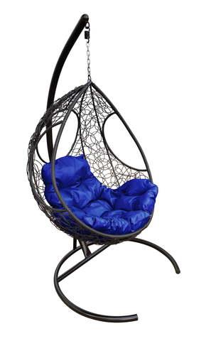 Кресло подвесное Ferrol black/blue