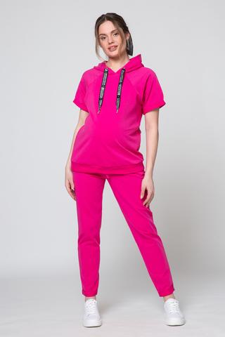 Спортивный костюм для беременных и кормящих 10621 фуксия