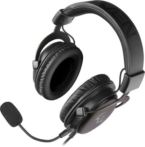Наушники с микрофоном Sven AP-G999MV серый 2м мониторные оголовье