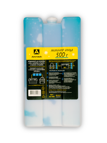 Аккумулятор холода Арктика (500 гр.)