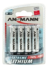 Батарейка литиевая AA ANSMANN 1.5V