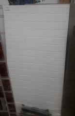 Огнеупорный лист 600*1200*10 мм, кирпич, белый