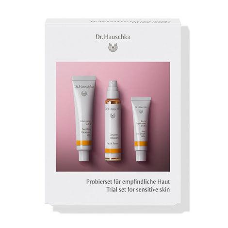 Набор пробников для чувствительной кожи (Trial set for sensitive skin) Dr.Hauschka