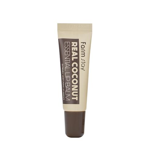 Бальзам для губ с экстрактом кокоса FarmStay Real Coconut Essential Lip Balm, 10ml