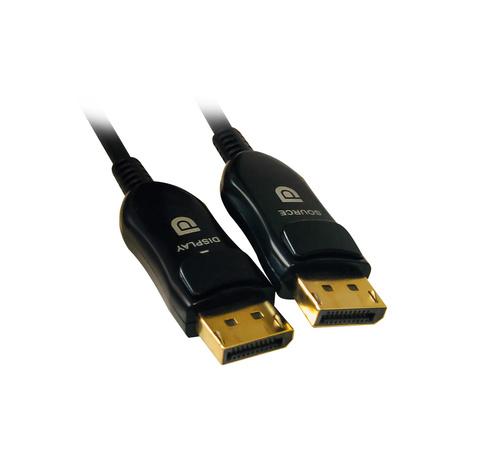 Кабель аудио-видео Digma 1.4v AOC DisplayPort (m)/DisplayPort (m) 20м. Позолоченные контакты черный (BHP DP 1.4-20)