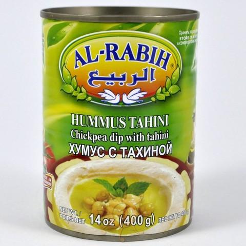 Хумус с тахини Al-Rabih, 370г