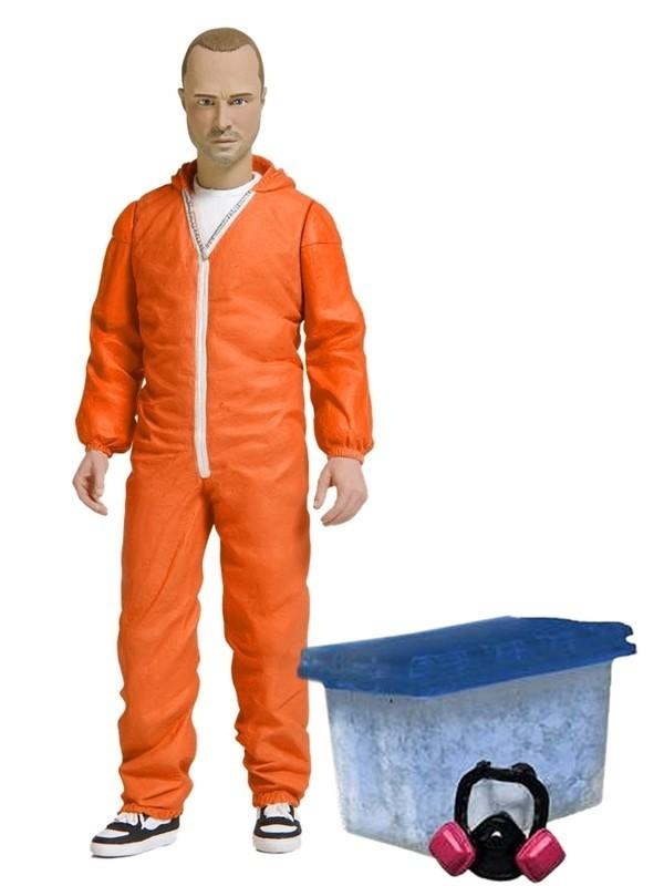 Во все тяжкие фигурка Джесси Пинкман оранжевый комбинезон Exclusive