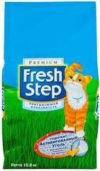 Наполнитель для кошачьего туалета Fresh Step Тройной контроль запаха