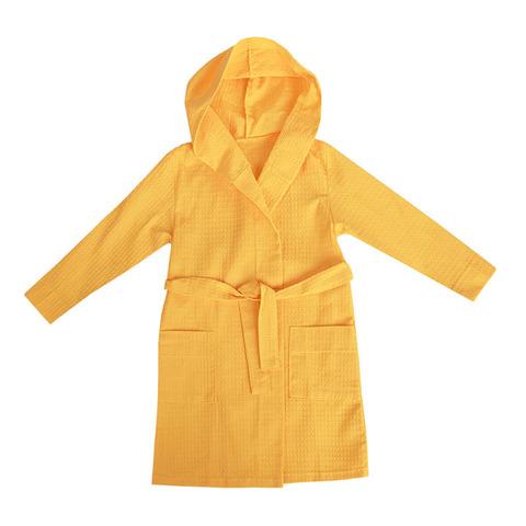 Халат для бани детский, желтый, Иваново