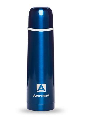 Термос Арктика (102-500 синий) 0,5 литра с узким горлом классический, синий