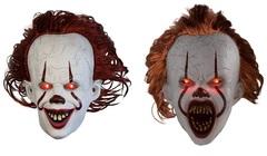 Оно маска клоун Пеннивайз с подсветкой