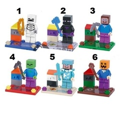 Minifigures Minecraft Blocks Building