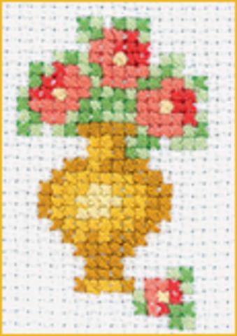 MH500 Ваза с цветами