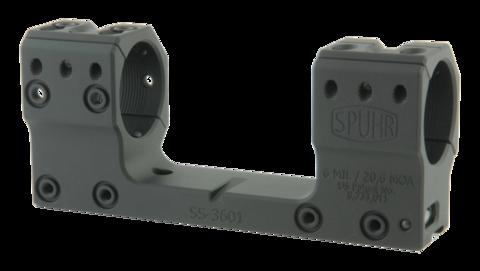 Тактический кронштейн SPUHR D30мм на 11mm (Sauer STR), H35мм, наклон 6MIL/ 20.6MOA (SS-3601)