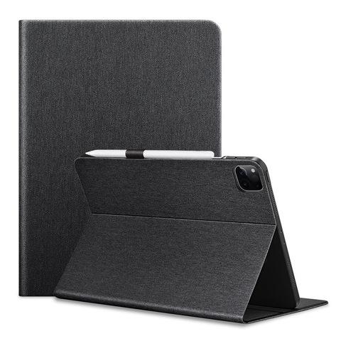 Тканевый магнитный чехол ESR Urban Folio Case для iPad Pro 12.9 2020 (черный)