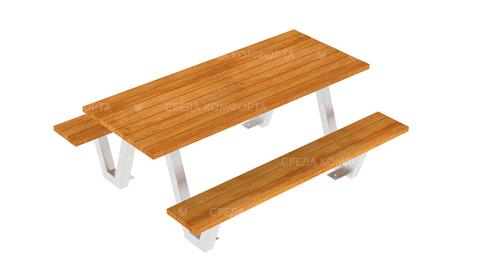 Скамейка со столом SCAM0246