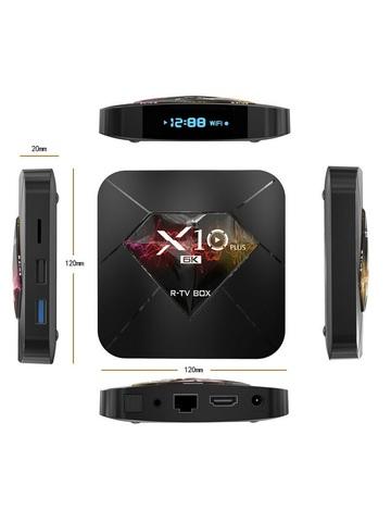 Смарт ТВ приставка X10 Plus TV BOX 4/64 Гб Андроид 9.0