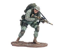 Милитари фигурка Разведчик корпуса морской пехоты Армии США — Military Series 1 Marine Corps Recon Soldier