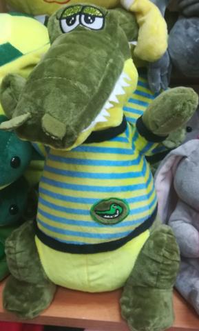 Крокодил в футболке 25 СМ