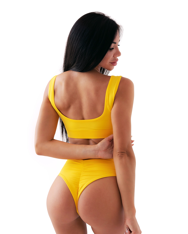Плавки Nebbia High-waist retro bikini - bottom 555 yellow