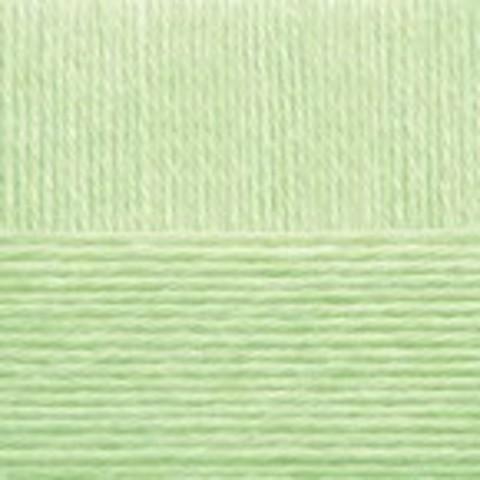 Купить Пряжа Пехорка Детский каприз Код цвета 041-Салатовый | Интернет-магазин пряжи «Пряха»