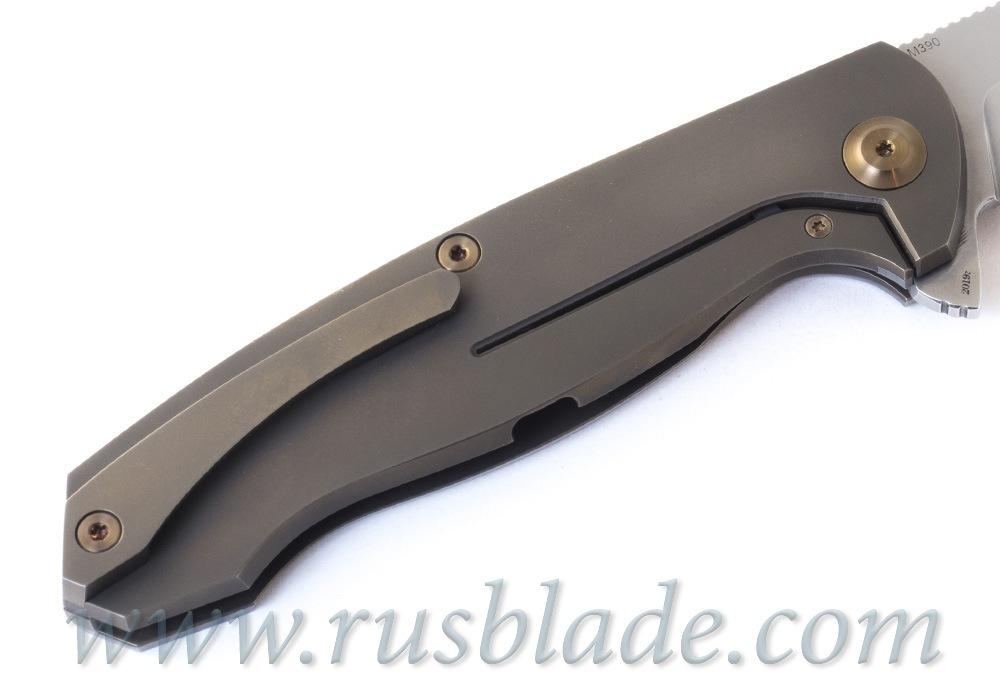 Cheburkov Wolf 2019 M390 Titanium Folding Knife - фотография