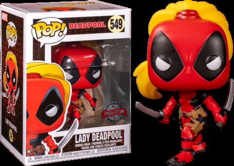 Lady Deadpool Funko Pop! || Леди Дэдпул