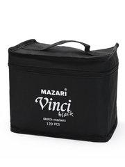 Mazari Vinci Black набор маркеров для скетчинга 120 шт двусторонние спиртовые пуля/долото 1.0-6.2 мм