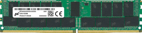 Память DDR4 Crucial MTA36ASF8G72PZ-3G2E1 64Gb DIMM ECC Reg PC4-25600 CL22 3200MHz