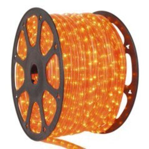 Оранжевый светодиодный шланг дюралайт Delux LED 2wrl