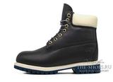 Ботинки Мужские Timberland 10061 Waterproof Navy Leather с Мехом