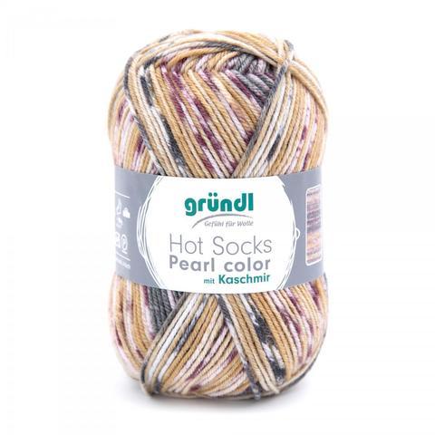 Gruendl Hot Socks Pearl Color 05 купить www.knit-socks.ru