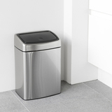Прямоугольный мусорный бак Touch Bin (10 л, артикул 477225, производитель - Brabantia, фото 5