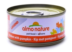 Консервы (банка) Almo Nature Legend Adult Cat Chicken&Pumpkin