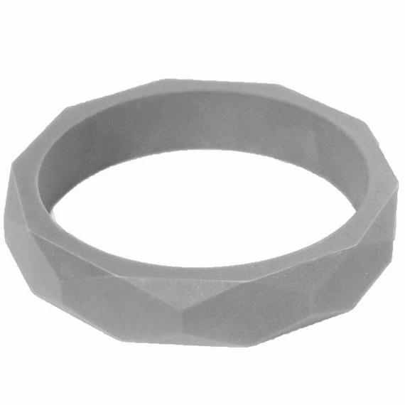 Силиконовый браслет Itzy Ritzy Round Bangle Gray