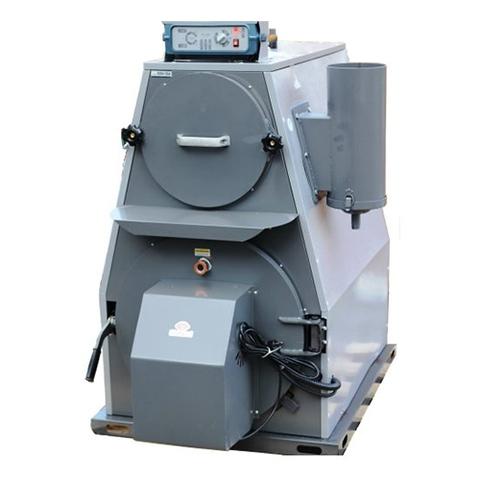 Котел твердотопливный пиролизный Kiturami KF 35A - 24 кВт (чугунный, двухконтурный)