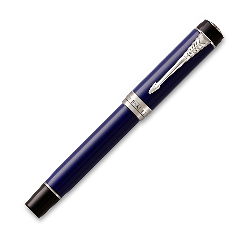 Parker Duofold - Blue/Black CT, ручка - роллер, F