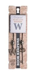 Bookmark Book Keepers  Letter - W