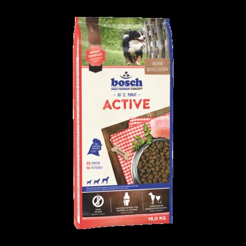Bosch Active Сухой корм для активных собак с домашней птицей