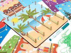 Развивающее пособие Многофункциональная игра Резинки, Smile Decor П218