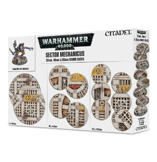 Sector Mechanicus Industrial Bases. Коробка