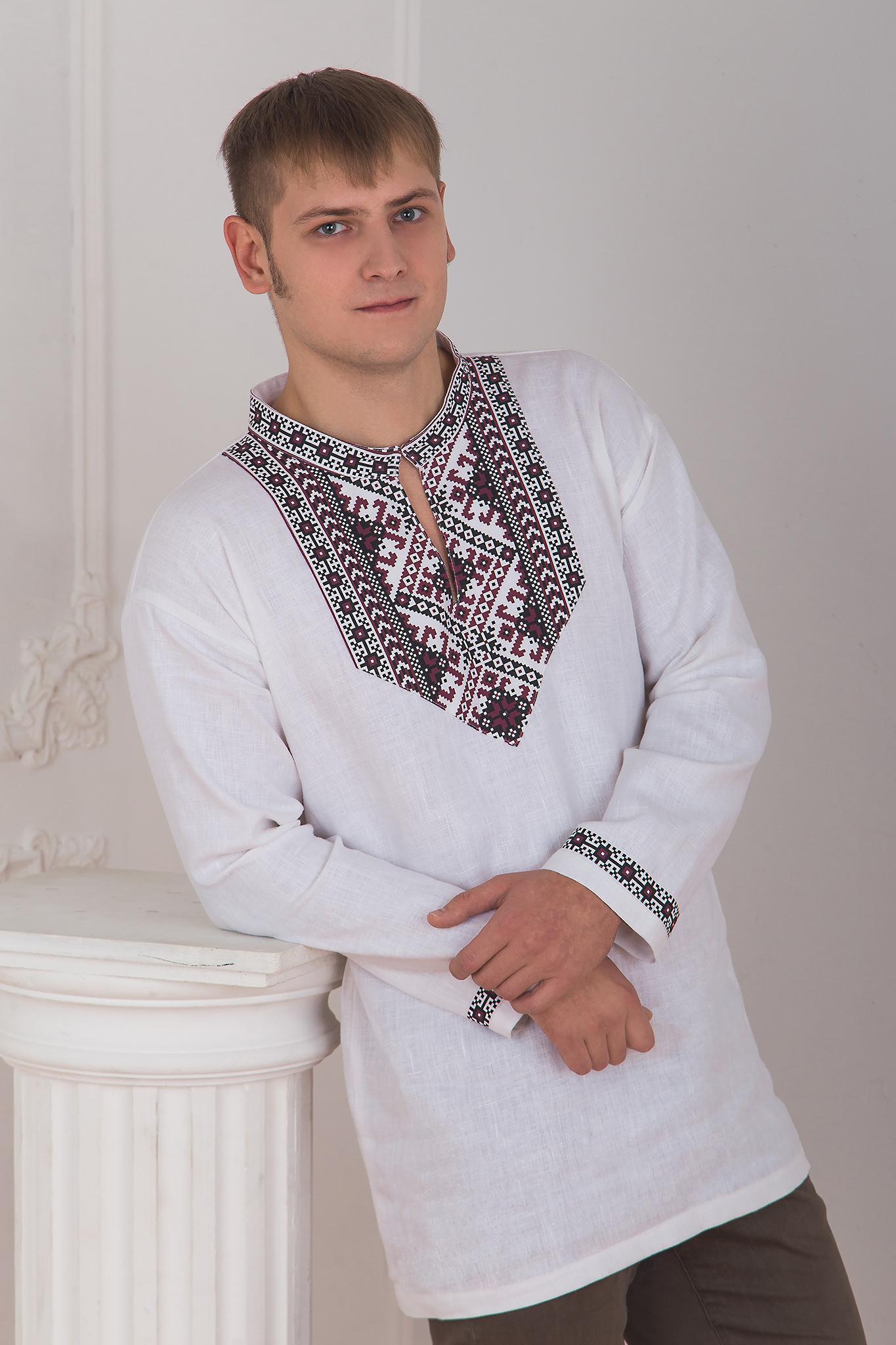 Славянская боевая рубаха приближенный фрагмент