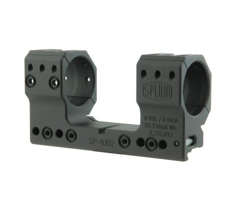 Тактический кронштейн SPUHR D34мм на Picatinny, H39мм, без наклона (SP-4007)