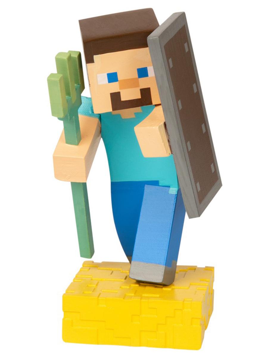 Фигурка Minecraft Adventure figures серия 4 Steve 10см
